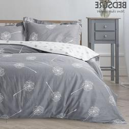 Bedsure 100% Cotton Floral Duvet Cover Sets Reversible Comfo