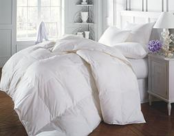 1200 TC Egyptian Cotton All Season Down Alternative Comforte