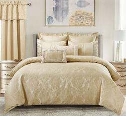 13PC Sara Bed in a Bag A Complete Cotton Blend Comforter Set
