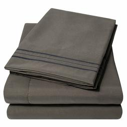1800 Thread Count Egyptian Comfort Sheet Set by Sweet Home C