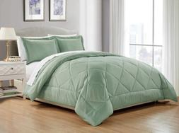 Chezmoi Collection 3-Piece Soft Down Alternative Comforter S