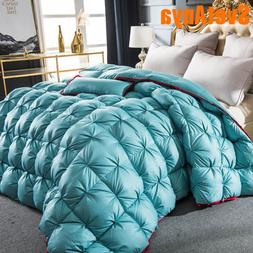 Svetanya 3d luxury Goose Down Duvet quilted Quilt king <font