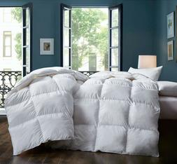 60% Goose Down Comforter TTC fabric 600Fill Power for all se