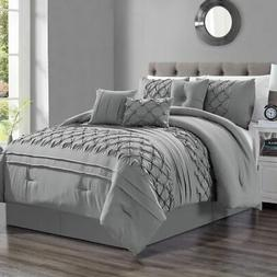 7 Piece Casimir Gray Comforter Set