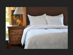 Natural Comfort Classic White Goose Feather Comforter, Queen