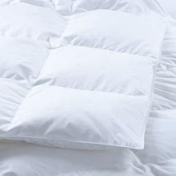 The ULTIMATE White Down Goose Alternative Comforter Duvet In