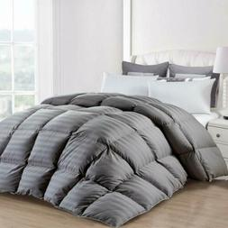 All-Season Goose Down Alternative Quilted Comforter in Box S