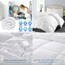 EASELAND All Season Queen Size Soft Quilted Down Alternative