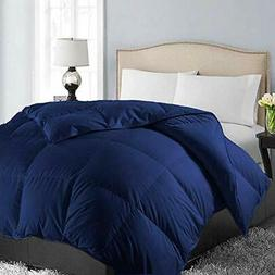 EASELAND All Season Queen Size Soft Quilted Down Queen White