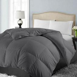 Easeland All Season King Soft Quilted Down Alternative Comfo