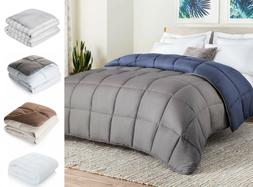 All-Season Reversible Down Alternative Quilted Comforter - P