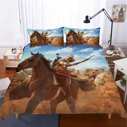 Musolei Assassins Creed 3D Bedding Set <font><b>Queen</b></f