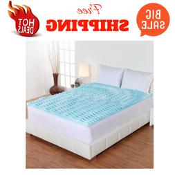 Authentic Comfort 2-Inch Orthopedic 5-Zone Foam Mattress Top