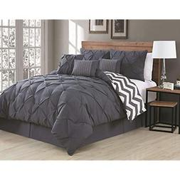Avondale Comforter Sets Manor 7-Piece Ella Pinch Pleat Set,