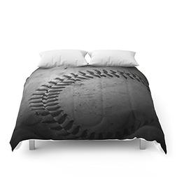 "Society6 Baseball Comforters Queen: 88"" x 88"""