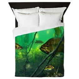 CafePress - Bass - Queen Duvet Cover, Printed Comforter Cove