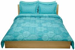 bed covers full queen industrial teal includes