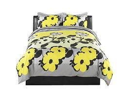 Beco Home Bedding Collection: 3 Piece Set , Yellow Flower St