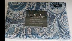 Ralph Lauren Bedding Full Queen Duvet Cover Set Medallion Fl