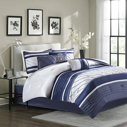Madison Park Blaire Queen Size Bed Comforter Set Bed in A Ba