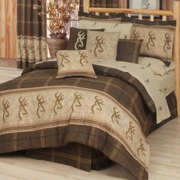 Browning Buckmark - Comforter Set - Queen