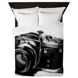 CafePress - Camera - Queen Duvet Cover, Printed Comforter Co