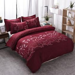 Cheap Bedding Set Single Floral Duvet Cover Sets Pillowcases