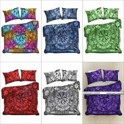 Comforter Duvet Cover Cycle Of The Age Design Cotton Fabric
