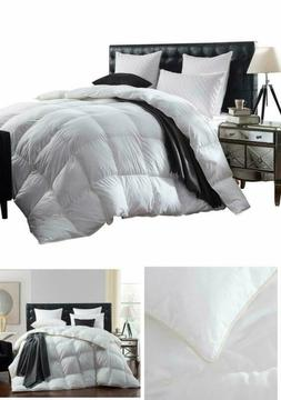 Comforter Queen Size Goose Bed+100% Egyptian Cotton Cover+Go