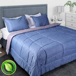 SUNVIOR Comforter Set Queen/Full Size with 2 Pillow Shams, U