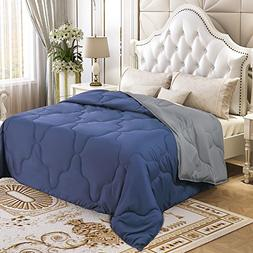 YGJT Comforter Set Queen Reversible Down Alternative Comfort