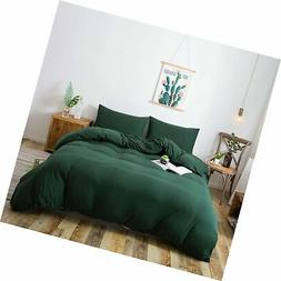 HOUSEHOLD 100% Cotton Jersey Knit Duvet Cover Light Weight,C