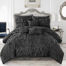 Chic Home CS3586-AN Springfield 10Piece Springfield Floral P