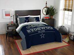 Dallas Cowboys COMBO 5 Pc FULL / QUEEN Size Comforter Set In