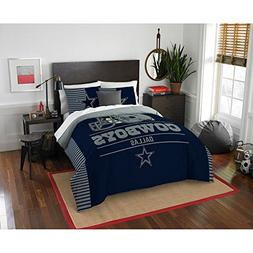 Dallas Cowboys Full / Queen Comforter & Pillow Shams  + HOME