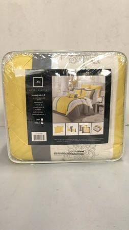design 8 piece embroidery comforter set queen