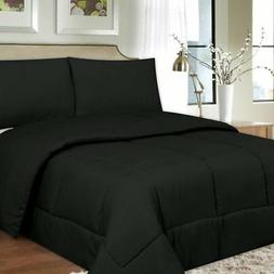 Down Alternative Box Stitch Comforter by Sweet Home Collecti