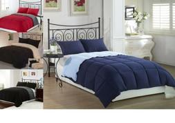 Down Alternative Comforter and SHAMS King Queen Full Size Co
