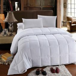 Royal All-Season Down Alternative Quilted Comforter Box Stit