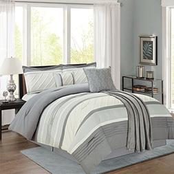 Sweet Home Collection 6 Piece Down Alternative Decorative Fa