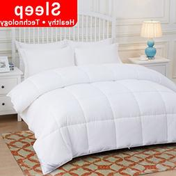 OHAPPES Down Alternative Quilted Comforter Queen for Summer
