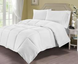 Pur Luxe Down Comforter with 100% Cotton Cover Factory Close