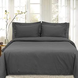 Duvet Cover 5 Piece Includes 2 Shams & 2 Pillowcases 1800 Su