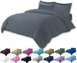Egyptian Comfort Ultra Soft 3 Pcs Duvet Cover Set - Comforte