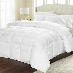 Equinox Comforter –  White Down Alternative Comforter  - H