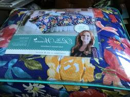 The Pioneer Woman Fiona Floral Comforter 100% Cotton Full/Qu