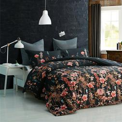 floral queen size comforter with pillow cases