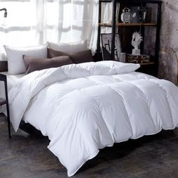 Fluffy comfort 100% Goose Down Duvet quilted Quilt king <fon