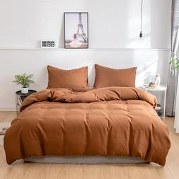 <font><b>Solid</b></font> super soft duvet cover set king <f