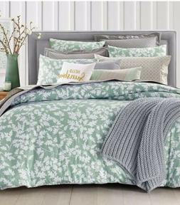 Charter Club FULL/QUEEN COMFORTER ONLY Damask Designs Oak Le